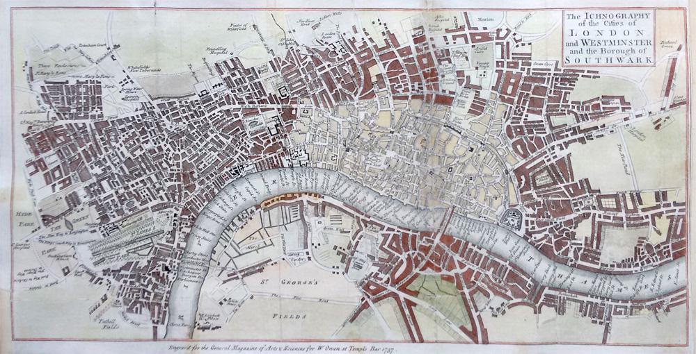 london antique map w owne antique map